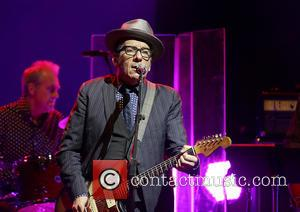 Elvis Costello - Elvis Costello performing at Liverpool Philharmonic Hall - Liverpool, United Kingdom - Monday 10th June 2013