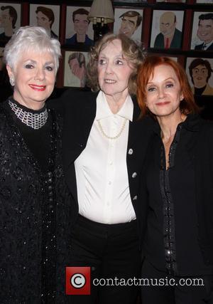 Shirley Jones, Charlotte Moore and Swoosie Kurtz - Irish Rep Theatre's 25th Anniversary Gala dinner held at Sardi's restaurant. -...
