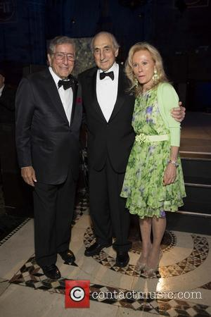 Tony Bennett, George Kaufman and Mariana Kaufman