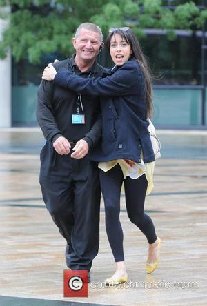 Oona Chaplin - Guests and presenters leave BBC Breakfast at Media City Manchester - Manchester, United Kingdom - Tuesday 11th...