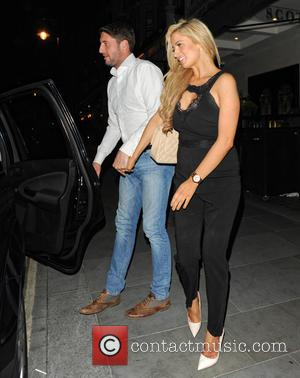 Chantelle Houghton and Nick Hogg - Chantelle Houghton and Nick Hogg leave Scott's restaurant - London, United Kingdom - Tuesday...