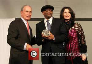 Mayor Michael Bloomberg and Spike Lee