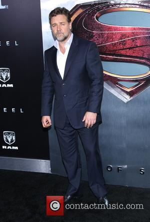 Russell Crowe - World premiere of 'Man of Steel' at Alice Tully Hall at Lincoln Center- Arrivals - New York...