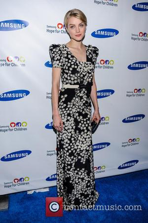 Jessica Stam - Samsung Hope For Children Gala at Cipriani Wall Street - New York City, NY, United States -...