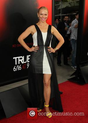 Lauren Bowles - Premiere of HBO's 'True Blood' at ArcLight Cinemas Cinerama Dome in Hollywood - Los Angeles, California, United...