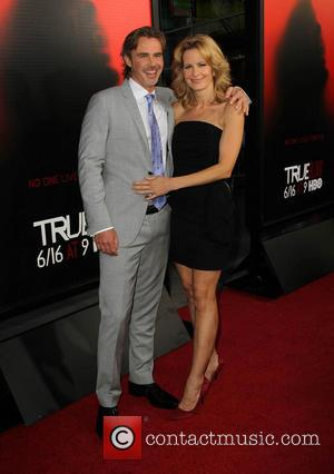 Sam Trammell and Missy Yager