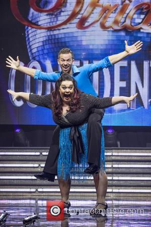 Lisa Riley and Artem Chigvintsev
