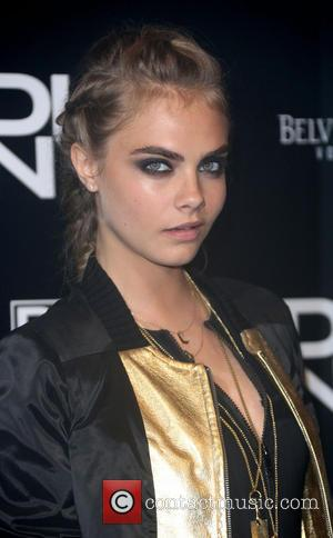 Cara Delevingne - #DKNYartworks launch held at the fire station - London, United Kingdom - Wednesday 12th June 2013