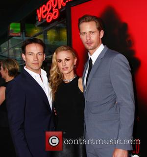 Stephen Moyer, Anna Paquin and Alexander Skarsgard