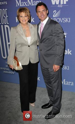 Cristina Ferrare and Mark Steines - Women In Film's 2013 Crystal + Lucy Awards at The Beverly Hilton Hotel -...
