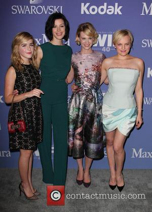 Kiernan Shipka, Jessica Paré, January Jones and Elisabeth Moss