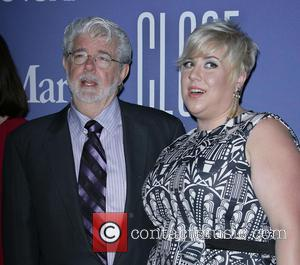 George Lucas and Katie Lucas - 2013 Crystal + Lucy Awards held at The Beverly Hilton Hotel - Los Angeles,...
