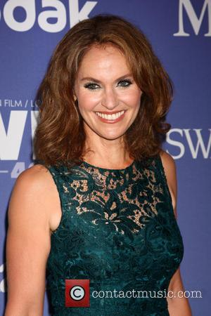 Amy Brenneman - 2013 Crystal + Lucy Awards held at The Beverly Hilton Hotel - Los Angeles, CA, United States...