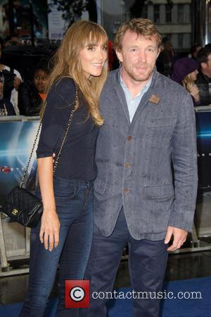 Jacqui Ainsley and Guy Ritchie - 'Man of Steel' European Premiere held at the Empire Leicester Square - Arrivals -...