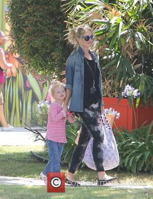 Rebecca Gayheart and Billie Beatrice