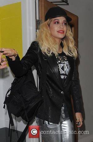 Rita Ora - Rita Ora returns home with her sister Elena - London, United Kingdom - Wednesday 12th June 2013