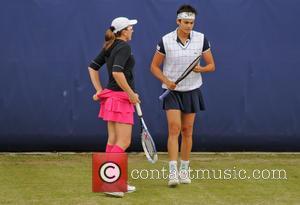 Tennis, Catalina Castano and Eleni Daniilidou