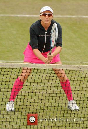 Tennis and Catalina Castano