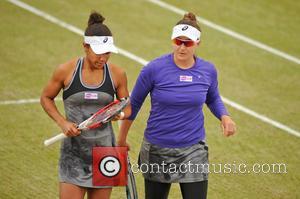 Tennis, Raquel Kops-jones and Abigail Spears