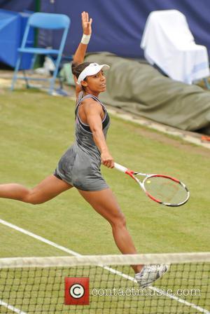 Tennis and Raquel Kops-jones