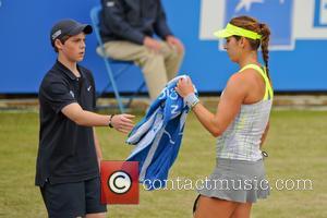 Tennis and Maria Sanchez