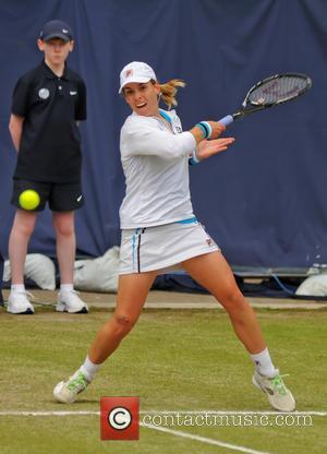 Tennis, Marina Erakovic and Francesca Schiavone