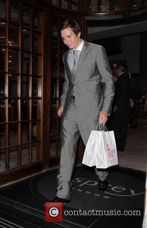 Oliver Phelps - Affinity Real Estate Shooting Stars Benefit Welcome Pairing Dinner at Asprey- Departures - London, United Kingdom -...