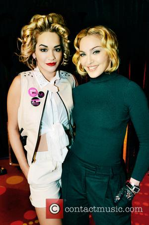 Rita Ora and Madonna - British singer Rita Ora has confirmed she's the new face of the Material Girl fashion...