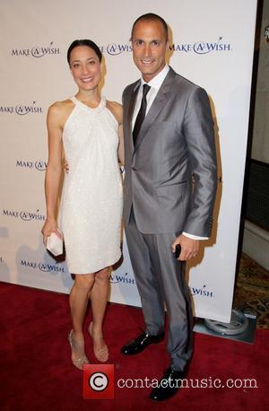 Chrissy Barker and Nigel Barker