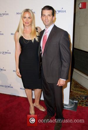 Vanessa Trump and Donald Trump Jr