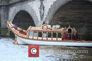 Queens Royal Barge and Gloriana