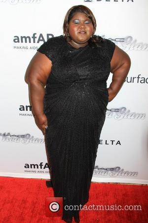 Gabourey Sidibe - 4th Annual amfAR Inspiration Gala New York at The Plaza Hotel - New York, NY, United States...