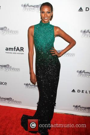 Yasmin Warsame - 4th Annual amfAR Inspiration Gala New York at The Plaza Hotel - New York, NY, United States...