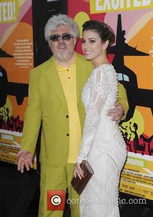 Pedro Almodovar and Blanca Suarez