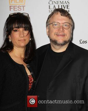 Guillermo del Toro and Lorenza Newton - 2013 Los Angeles Film Festival -