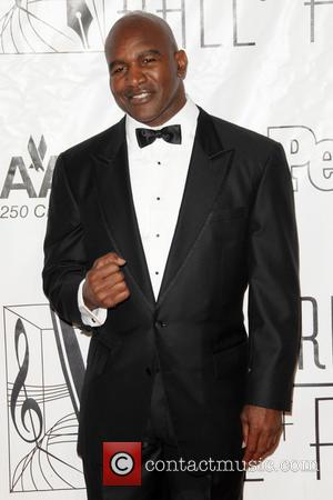 Evander Holyfield - 44th Annual Songwriters Hall of Fame - Red Carpet Arrivals - New York City, NY, United States...