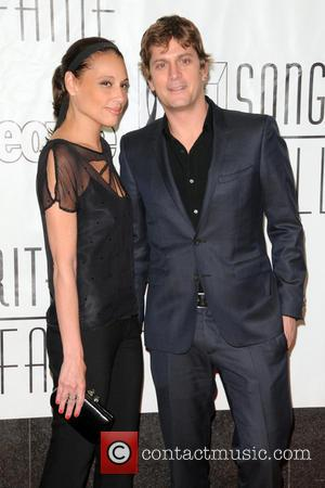 Rob Thomas and Marisol Maldonado - 44th Annual Songwriters Hall of Fame - Red Carpet Arrivals - New York City,...