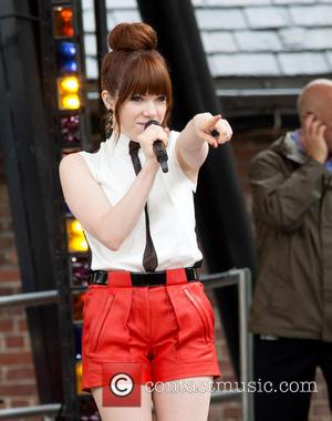 Carly Rae Jepsen's Note To Self: Let Go Of The Ball On First Pitch