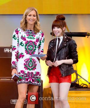 Lara Spencer and Carly Rae Jepsen