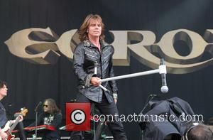 Europe and Joey Tempest - Download Festival 2013 - Performances - Day 1 - London, England, United Kingdom - Friday...
