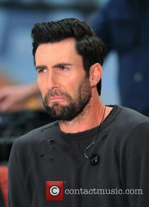 Maroon 5 and Adam Levine - Maroon 5 performs live as part of the Toyota Concert Series on NBC's 'Today'...
