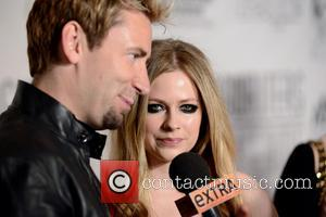 Chad Kroeger and Avril Lavigne - 44th Annual Songwriters Hall of Fame - Red Carpet Arrivals - Manhattan, New York,...