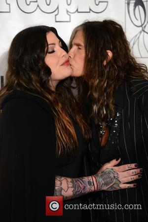 Mia Tyler and Steven Tyler