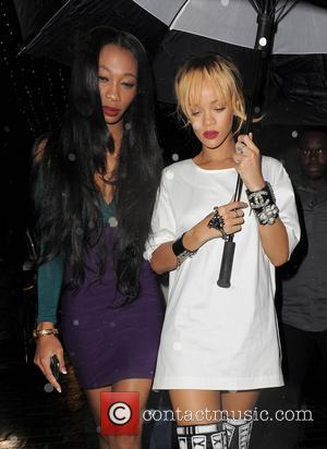 Rihanna and Melissa Forde