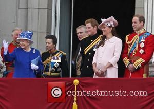 Prince Charles, Queen Elizabeth II, Prince Harry, Catherine, Duchess of Cambridge, Kate Middleton, Prince Andrew, Prince William, Duke of Cambridge and Duke of York