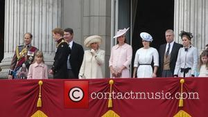 Prince Harry, Catherine, Duchess Of Cambridge, Kate Middleton, Camilla, The Duchess Of Cornwall, Princess Eugenie, Prince Andrew, Duke Of York and Princess Beatrice