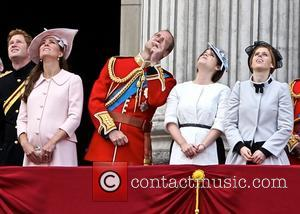 Prince Harry, Catherine, Duchess Of Cambridge, Kate Middleton, Princess Eugenie and Princess Beatrice