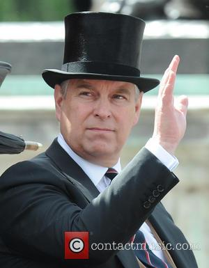 Prince Andrew and Duke of York - Trooping the Colour 2013 - The Queen's Birthday Parade - - London, United...
