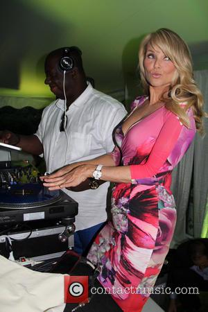 Dj Fresh and Christie Brinkley