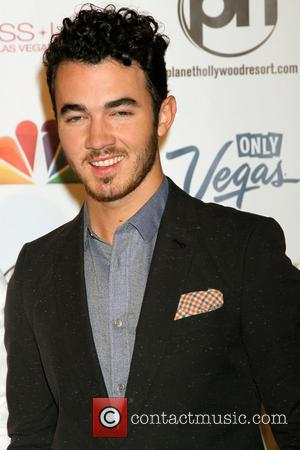 Kevin Jonas - 2013 Miss USA Pageant held at Planet Hollywood Resort and Casino - Arrivals - Las Vegas, Nevada,...